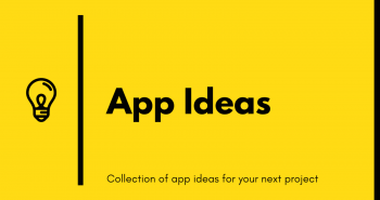 Mobile Apps Ideas