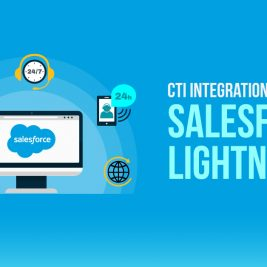 CTI Integration with Salesforce Lightning
