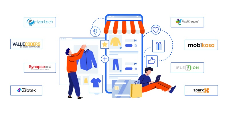 Best 10 eCommerce Development Companies in India